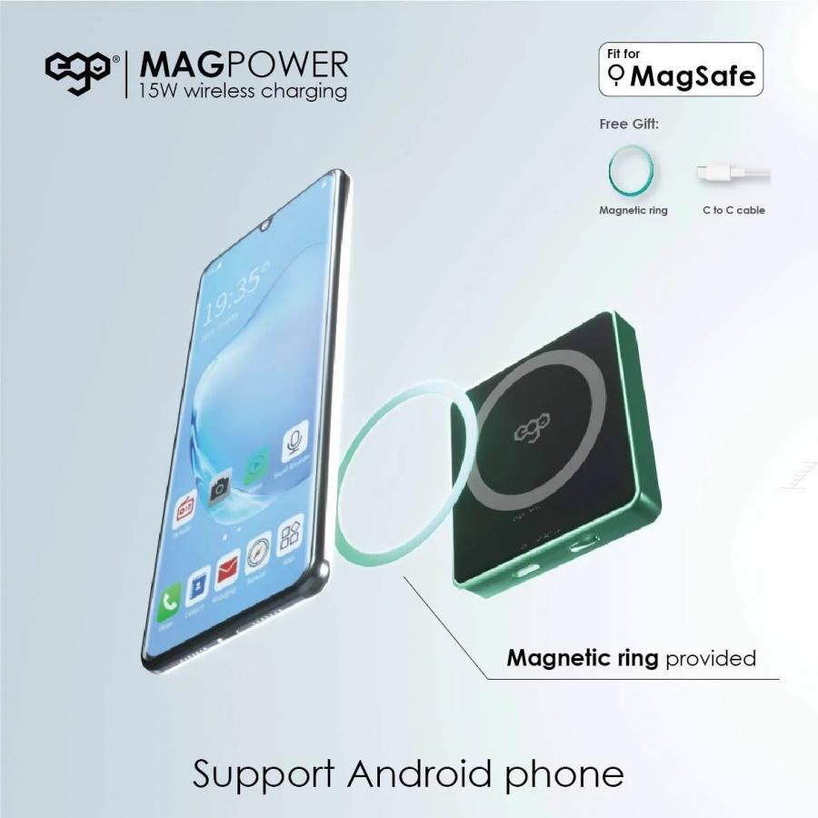 EGO MAGPOWER 15W magsafe 6000mAh 行動電源