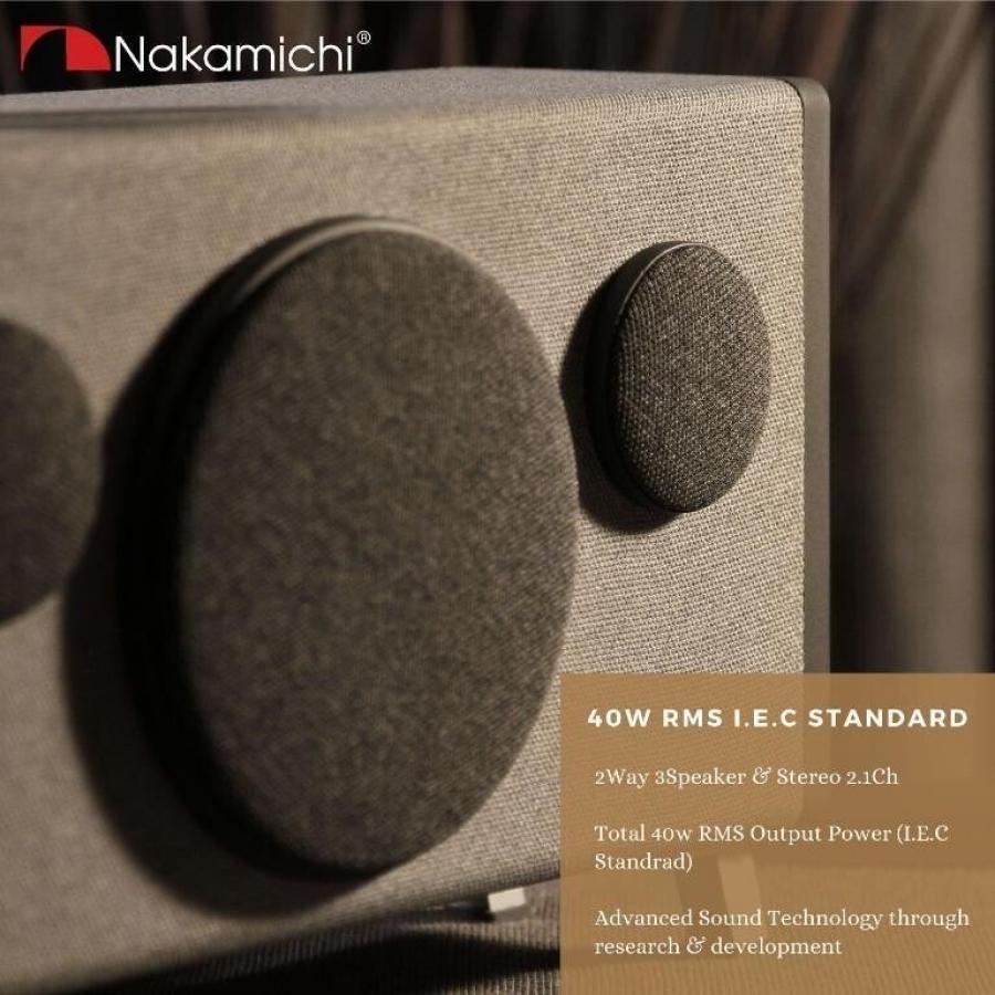 Nakamichi SOLO 1 藍牙膽機音箱