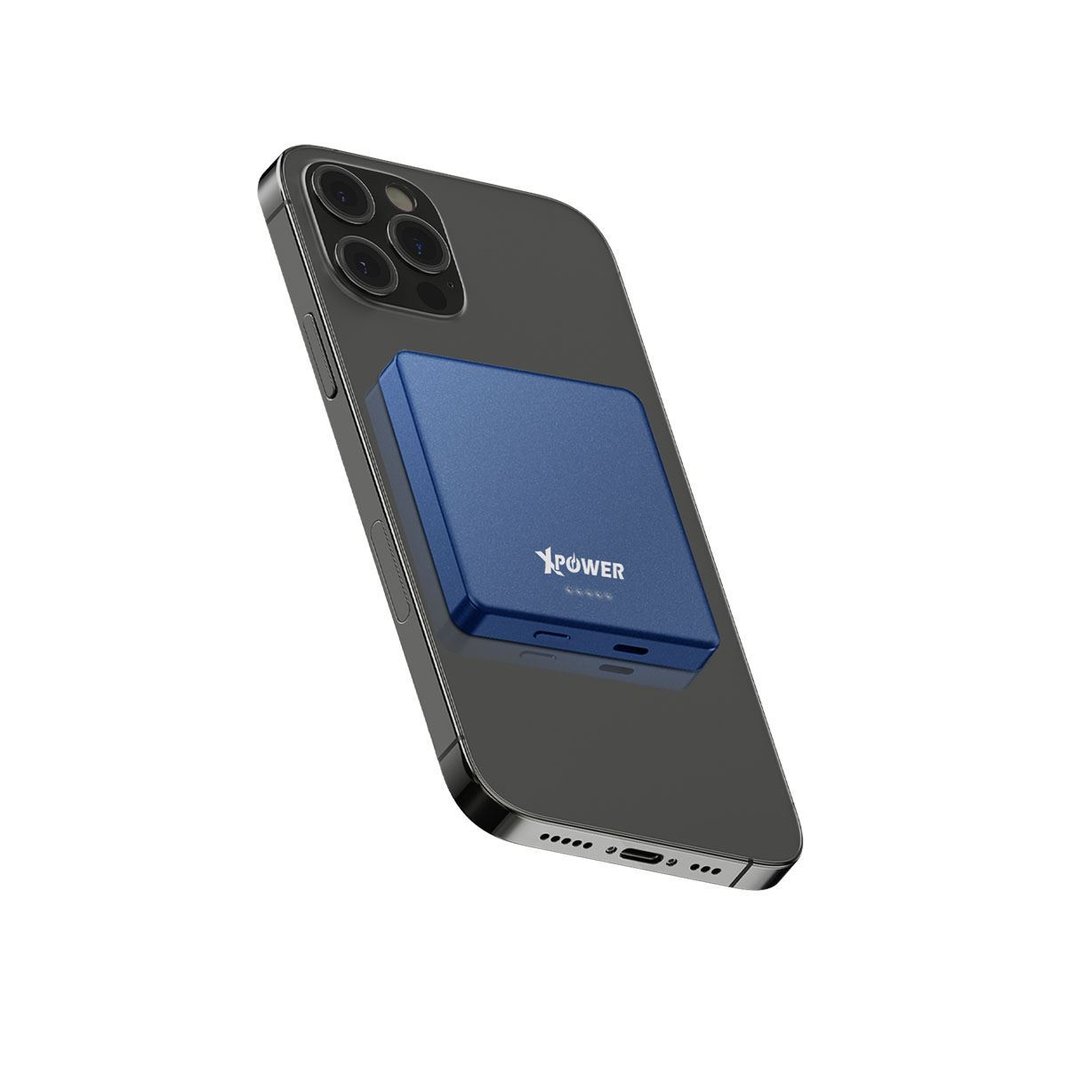 XPower MM5 磁吸無線充+PD外置電