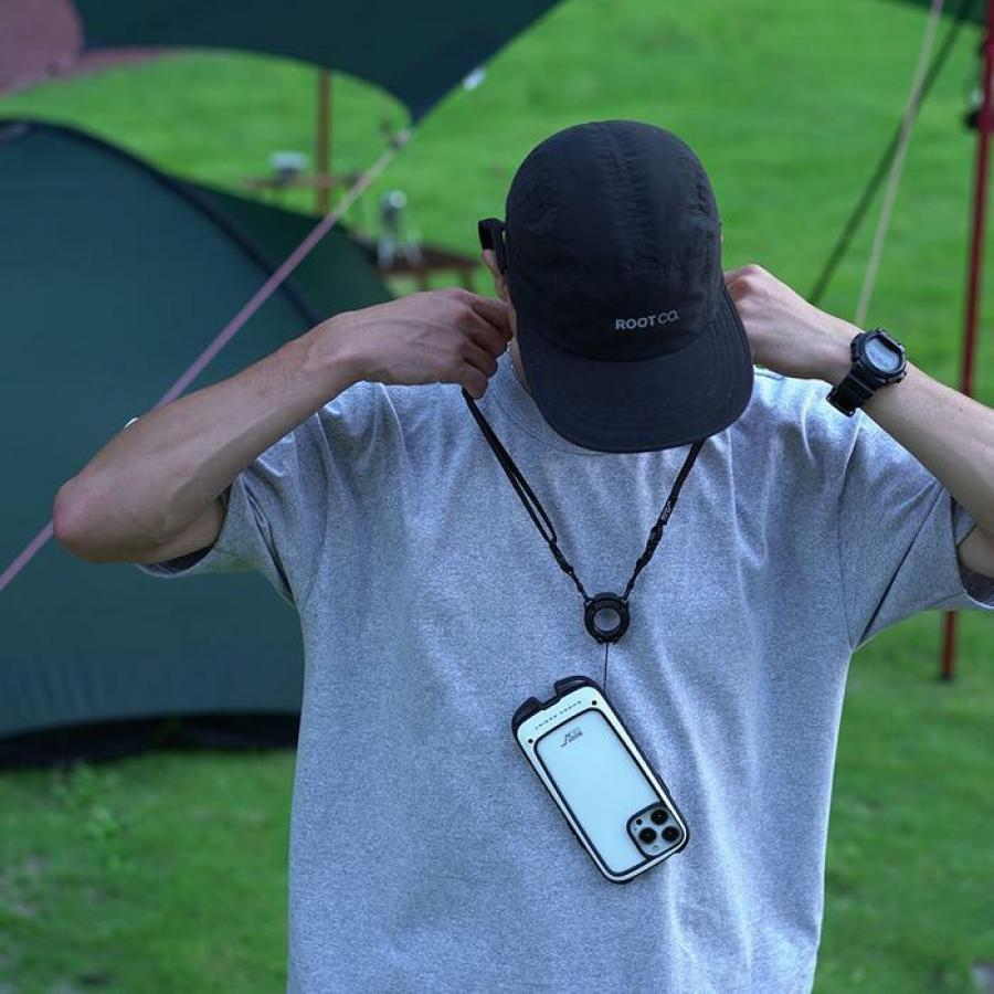 日本 ROOT CO Shock Resist +Hold iPhone 13/Pro/Pro Max 防震保護殼