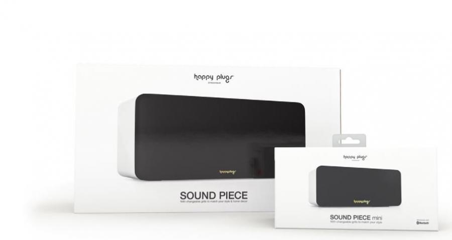 瑞典 Happy Plugs Sound Piece mini 藍牙 3.5 毫米 便攜式揚聲器